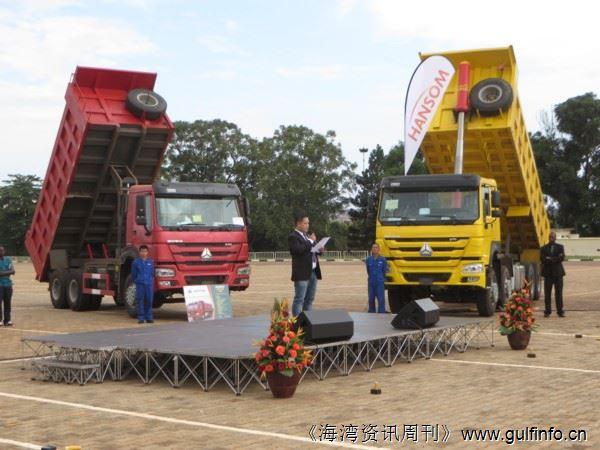 中国重汽产品进军乌干达