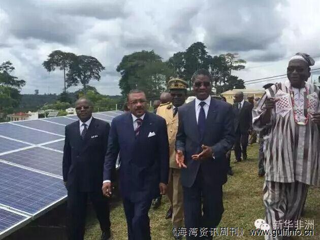 华为承建的喀麦隆莫沃莫卡村太阳能电站项目造福上万村民