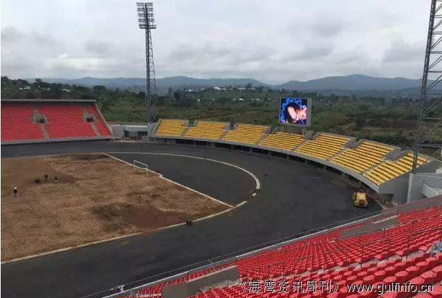 中国公司为喀麦隆建设现代化体育场迎接2019年非洲杯