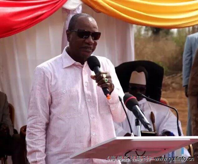 中企承建几内亚苏阿皮提水电站正式奠基